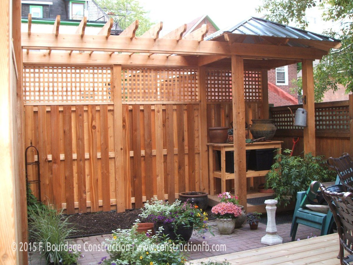 Pergola, Downtown Ottawa, F. Bourdage Construction