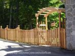 Fence, Manotick (Ottawa), F. Bourdage Construction