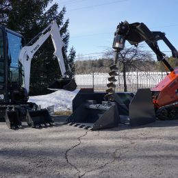 Excavator and Skid-steer, F. Bourdage Construction